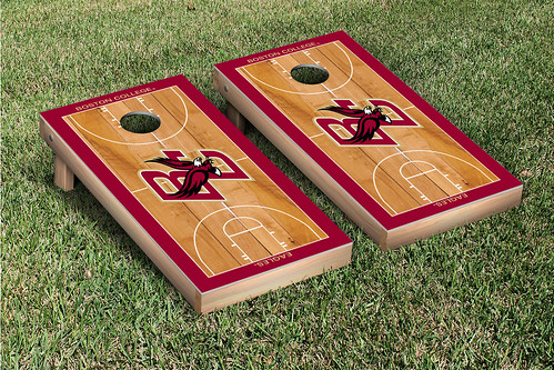 Boston College Eagles Cornhole Game Set Basketball Court