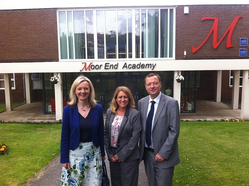 Education Minister visits Colne Valley