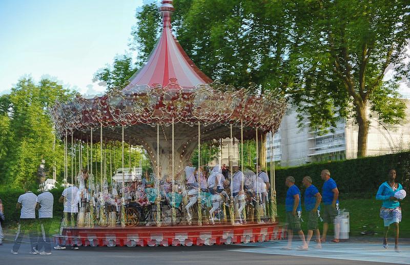 Evry Daily Photo - Les 50 ans de l Essonne - Les Carrousels