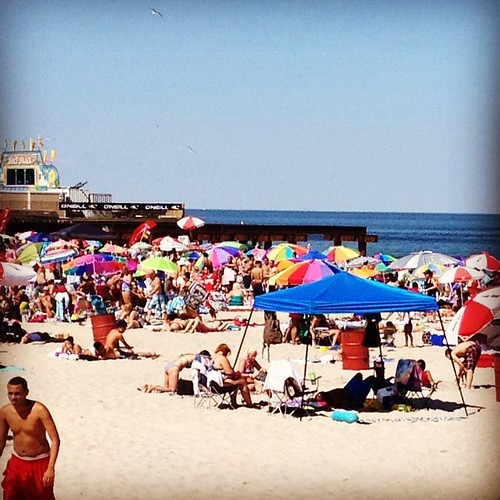 Jersey Shore beach day #thisisNJ