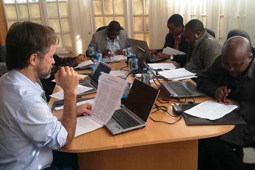 Participants during a writeshop in Naivasha, 29 May 2014