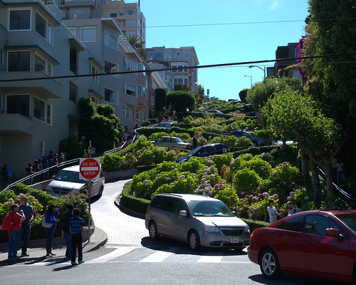 Crazy Lombard Street