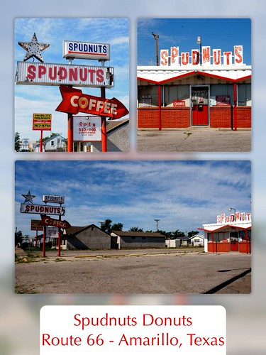 Spudnuts Donuts & Coffee - Route 66, Amarillo, Texas