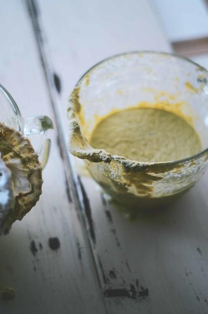 pistachio nut milk
