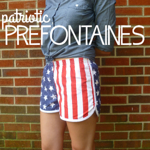 Patriotic Prefontaine Shorts by Hey, It's SJ