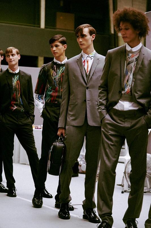 SS15 Paris Dior Homme306_Ben Allen, Lucas Santoni, Gryphon O'Shea, Abiah Hostvedt(dazeddigital.com)