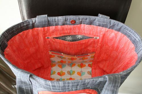 Petal Pinwheels Tote Bag