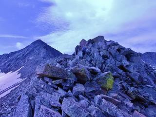 Gladstone Peak from Saddle of North Ridge