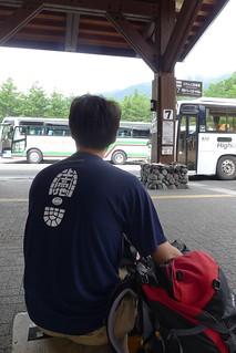 上高地バスターミナル