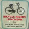 Bicycler's lunch.