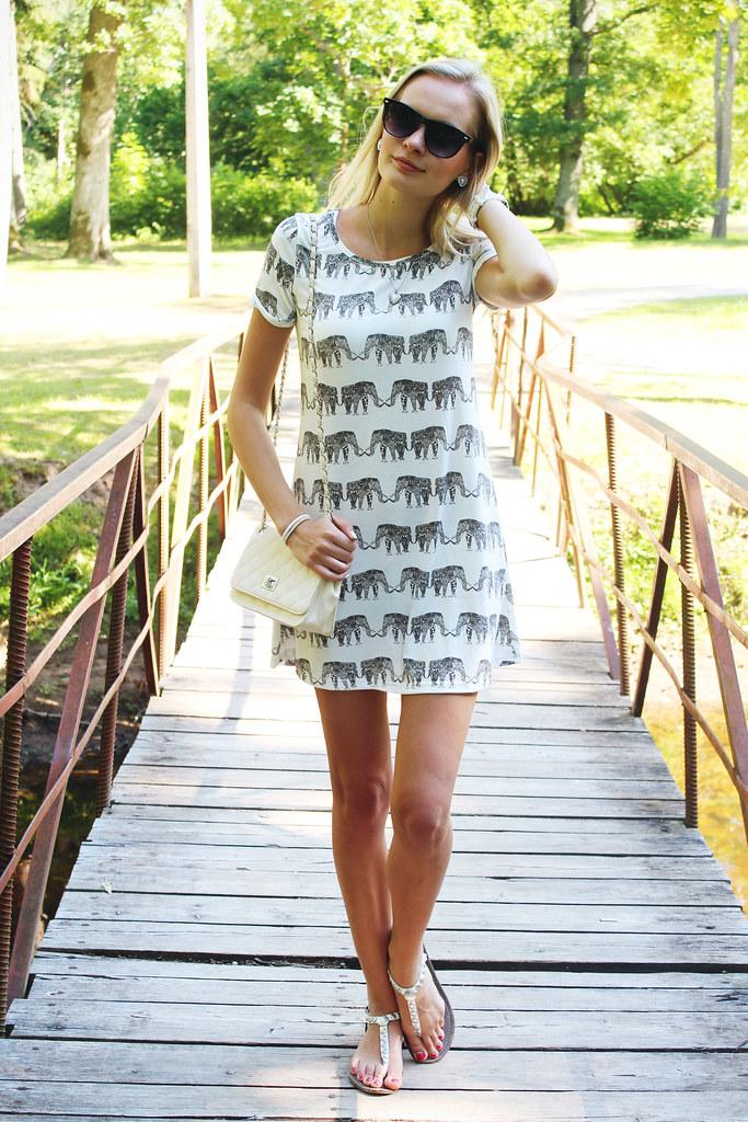 elephant-print-dress