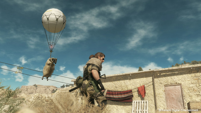 Metal Gear Solid V : The Phantom Pain - Screenshot 1