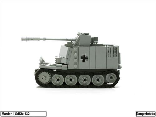 Marder II SdKfz 132 de Panzerbricks
