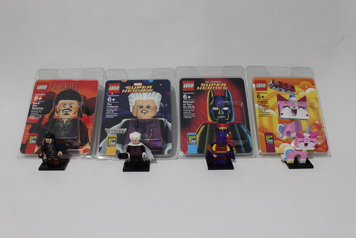 LEGO San Diego Comic Con 2014 Exclusive Minfigures