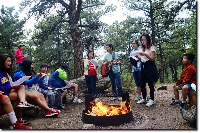 Campfire worship 5