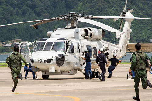 SH-60K 緊急発進訓練/Scramble training