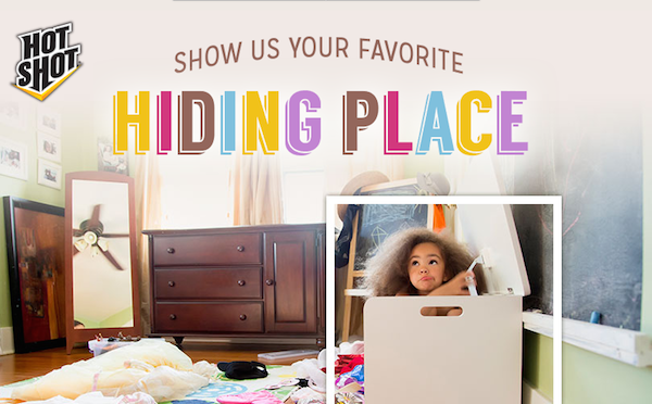 Hot Shot® Insecticides Hiding Places Facebook Sweepstakes