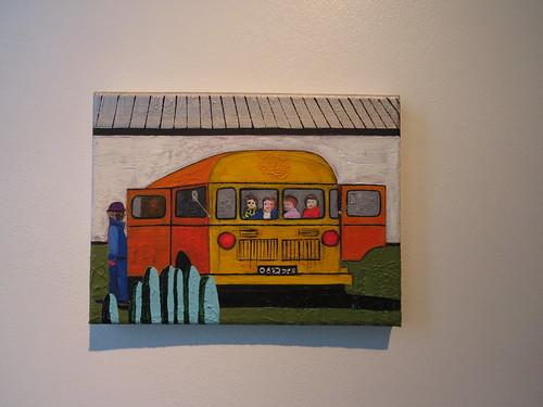 Harju rajooni Alavere sovhoosis viib toidu põllule buss, mis on ühtlasi kohandatud sööklaks / The Bus-Canteen