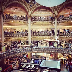 Galleries lafayette #shopping #paris