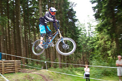 bicycle motocross(0.0), bmx bike(0.0), cyclo-cross(0.0), downhill(0.0), racing(1.0), bicycle racing(1.0), mountain bike(1.0), vehicle(1.0), mountain bike racing(1.0), sports(1.0), race(1.0), freeride(1.0), sports equipment(1.0), downhill mountain biking(1.0), cycle sport(1.0), cyclo-cross bicycle(1.0), extreme sport(1.0), cross-country cycling(1.0), bmx racing(1.0), mountain biking(1.0), bicycle(1.0),