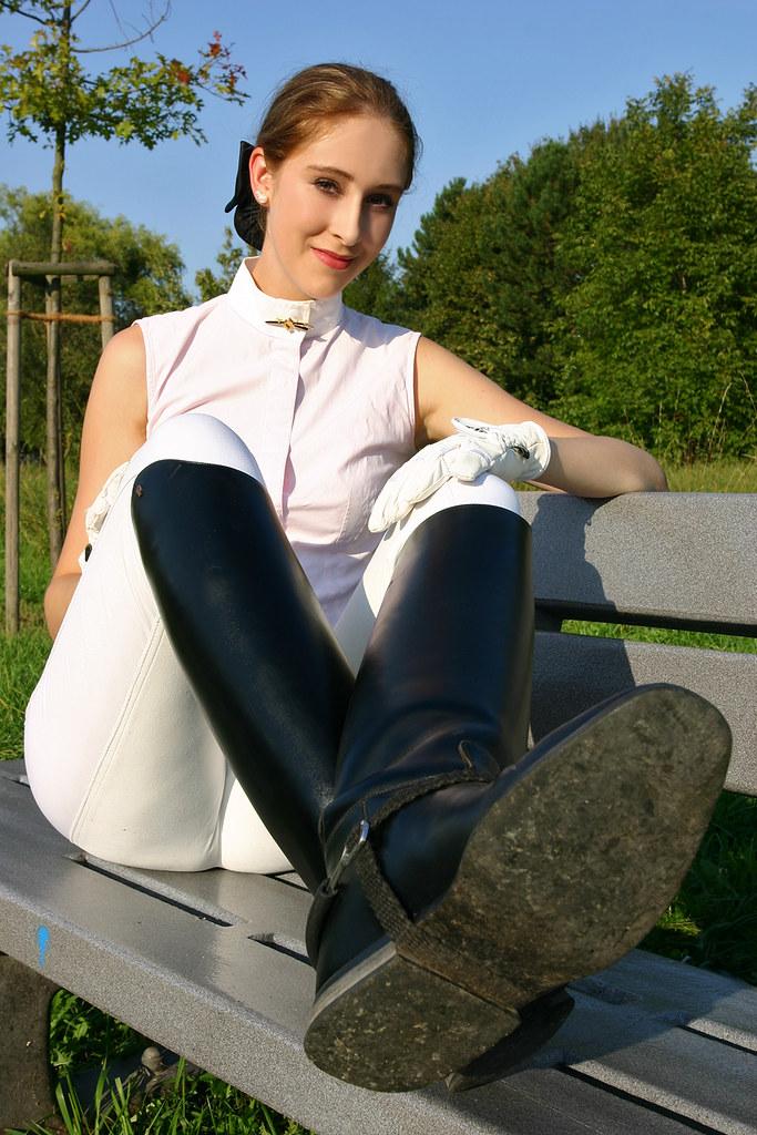 Riding boot girls