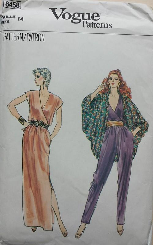 vintage Vogue 8458