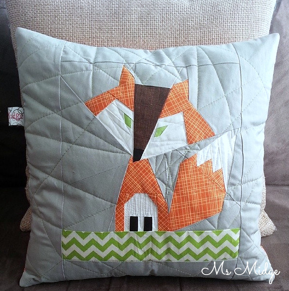 Foxy Cushion Cover