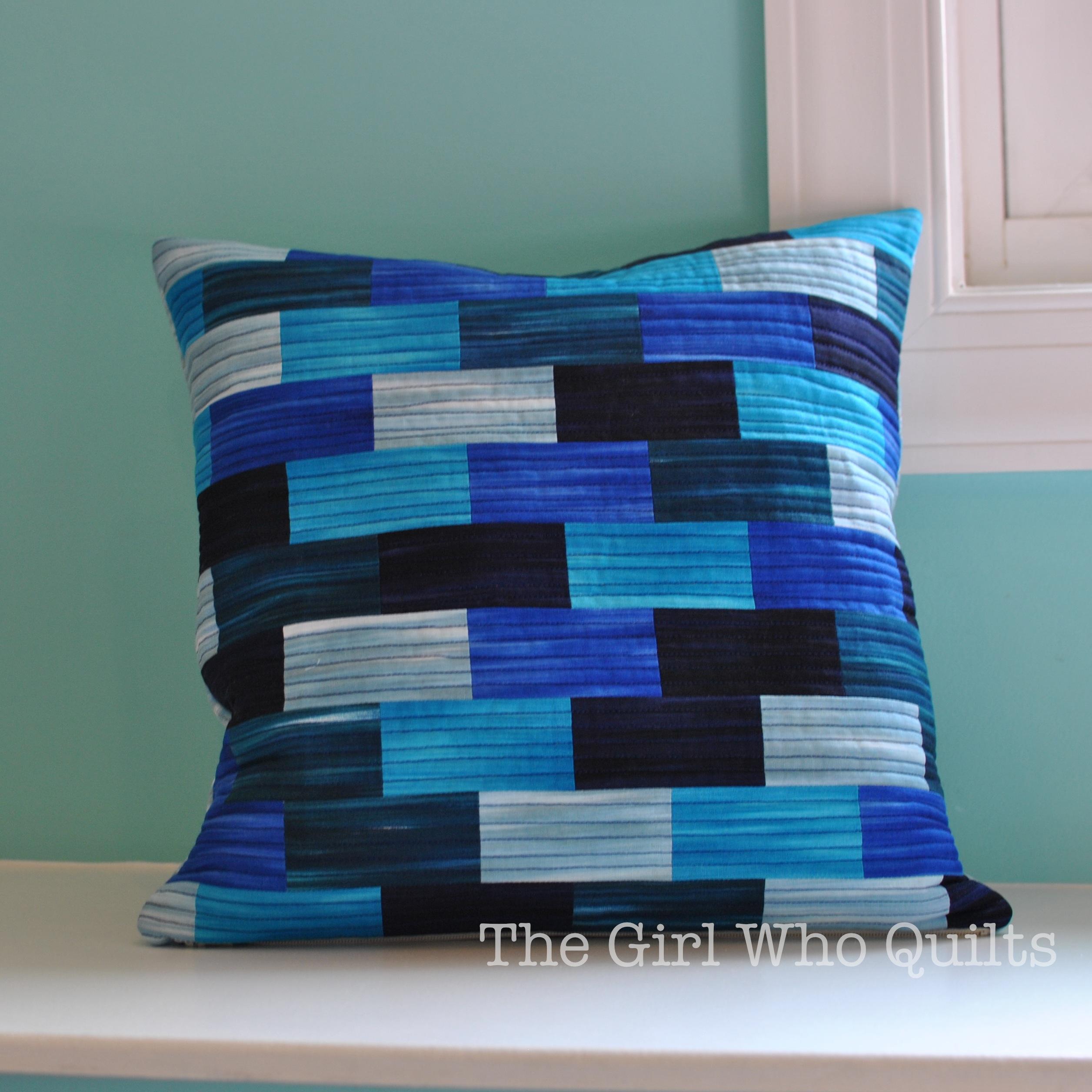 Tile Pillow Tutorial for Benartex
