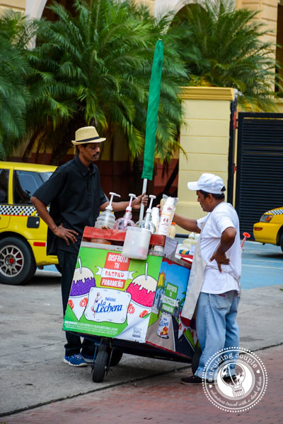 Shaved Ice Vendor
