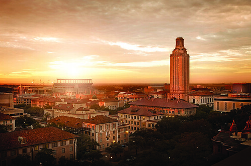 The University of Texas at Austin celebrates the success of its historic Campaign for Texas. (Photo by Randall Ford)