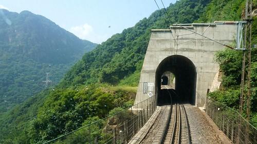 松树坡隧道。