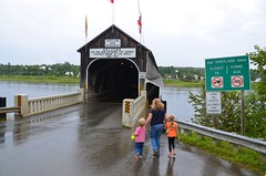 Getting A Picture In Front Of The World's Longest Covered Bridge