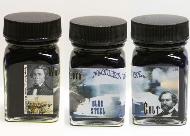 Review: Noodler's Steel Blue Fountain Pen Ink
