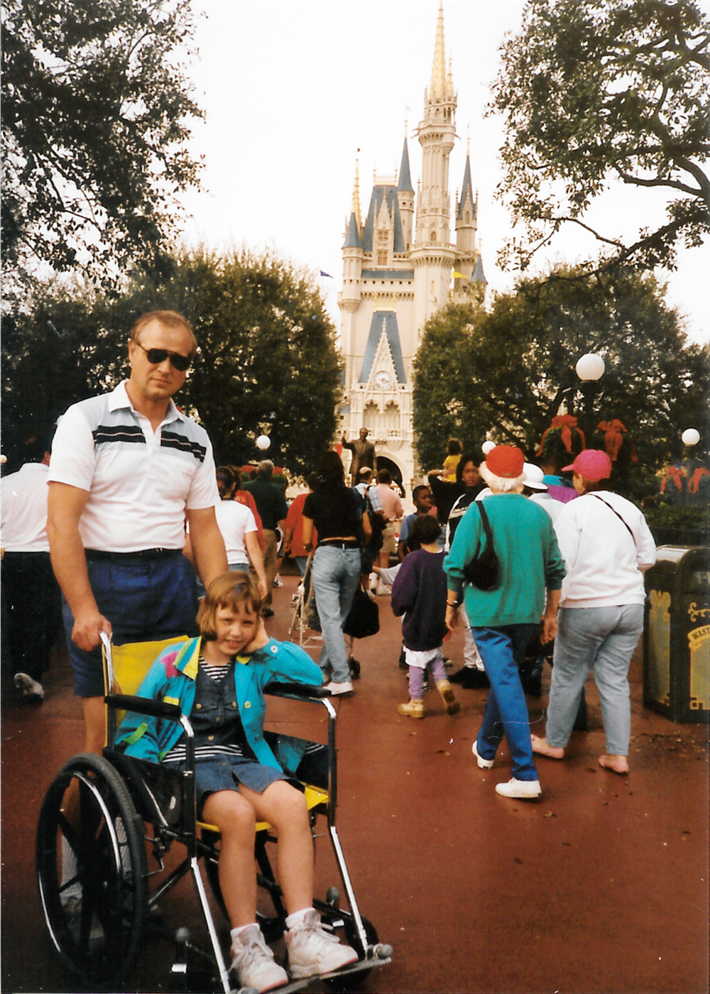 WheelchairSally@Disneyworld