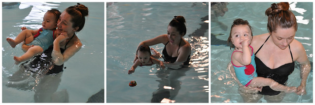 Waverlys First Swim Lesson