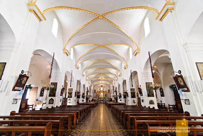 Vigan City's St. Paul Cathedral Interior