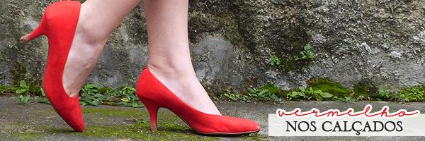 Usar vermelho nos calçados