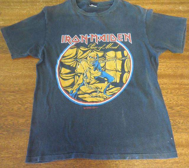 Vintage 1983 Iron Maiden Piece of Mind T-Shirt