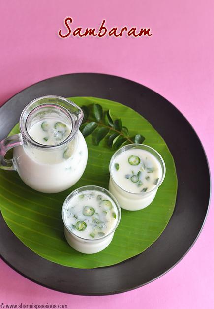 Sambaram Recipe
