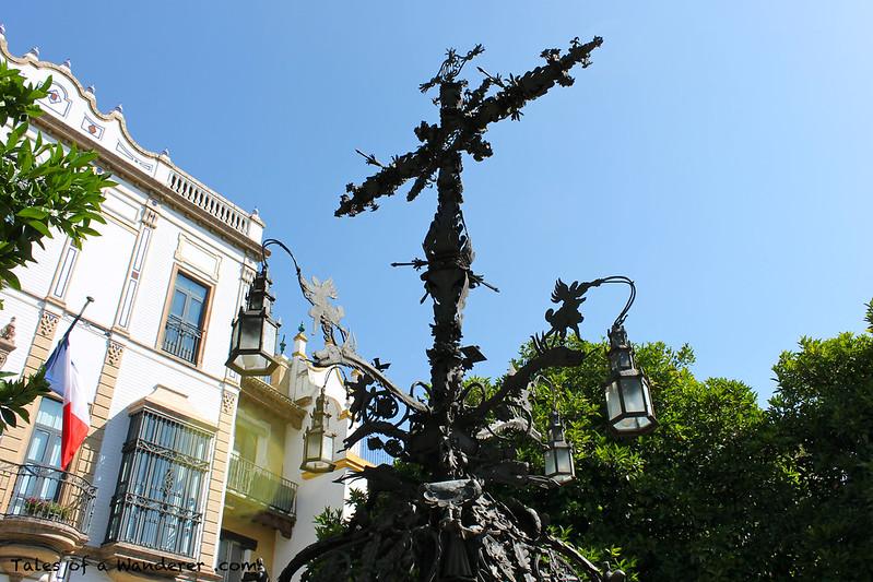 SEVILLA - Plaza de Santa Cruz