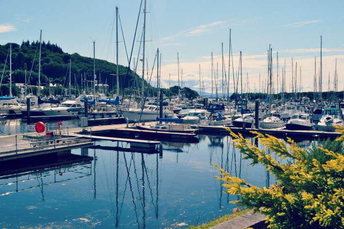 inverkip harbour boat shop
