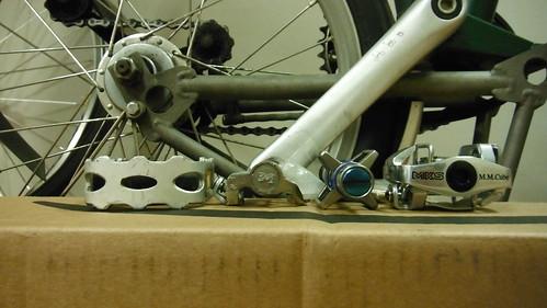 Wellgo F278 Folding Bike Bicycle Aluminum Platform Flat Pedals