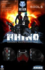 """=BFI// """"RHINO"""" Armored Compression Vest"""