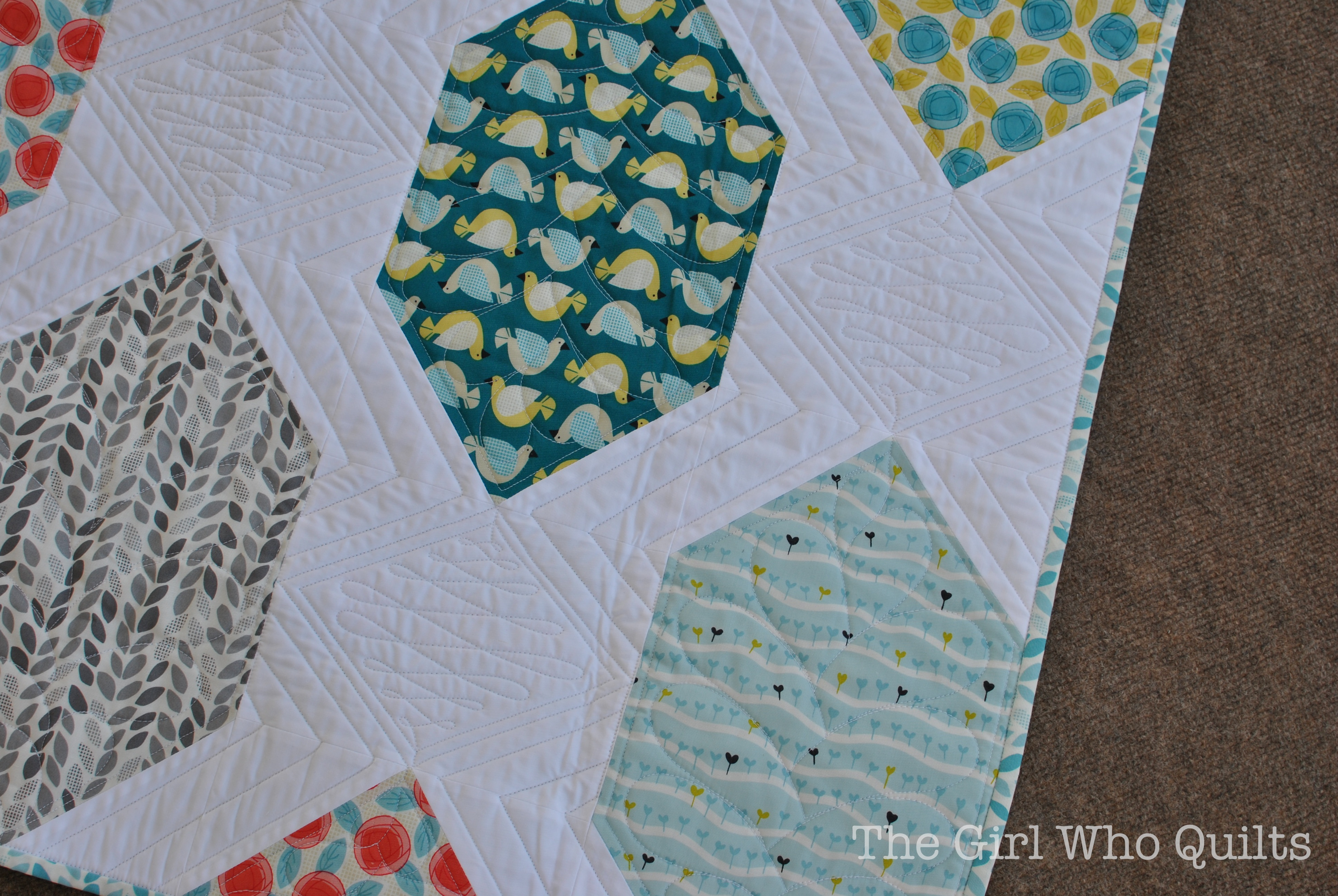 Backyard Garden Quilt for Cloud 9