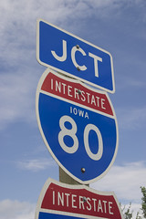 Interstate-80 Sign