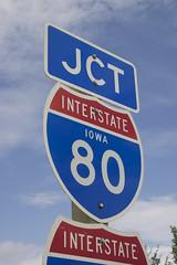 Interstate-80 Sign