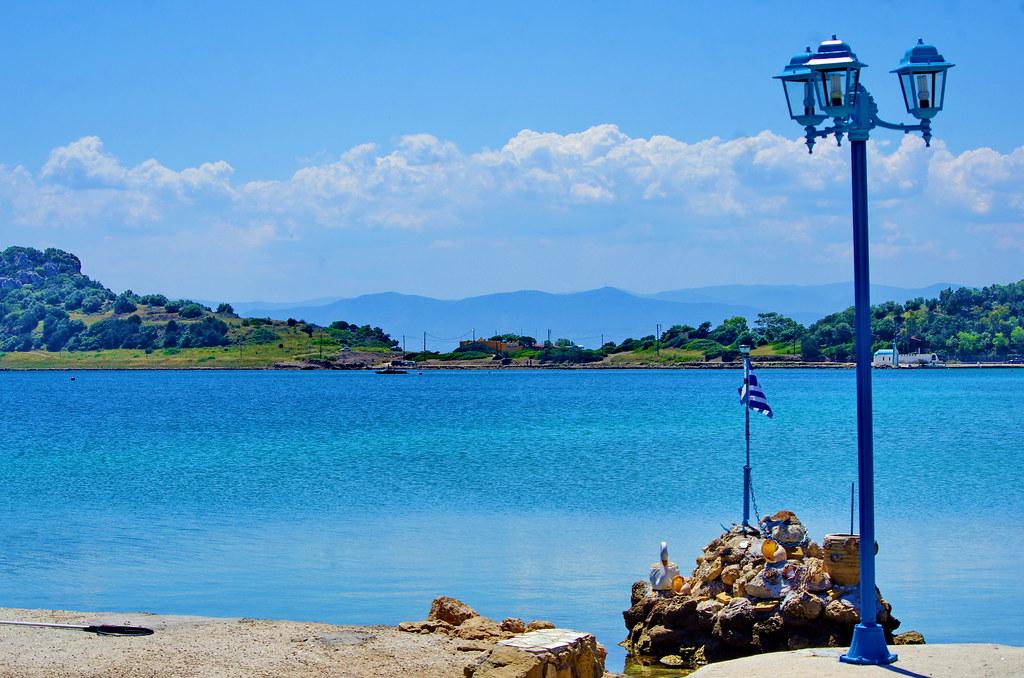 Grèce, Corinthie, ΛΟΥΤΡΆΚΙ LOUTRAKI  Vouliagmeni Lake Lac de Vouliagmeni 4