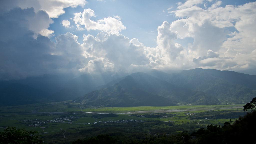 [台東] 花東縱谷、六十石山、伯朗大道
