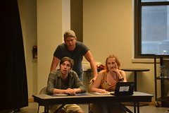 Thu, 2014-08-21 18:25 - Photos from our rehearsal process of the play about making theatre with special attention on the scenes about rehearsal. Wha!? #dontcallitplaypractice