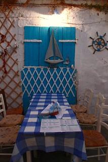 Preveza, taverna Koxili (Conchiglia)